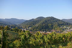 Leisberg - Lichtental vom Schafberg