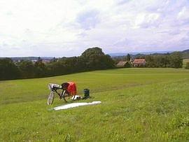 bei/near Gailingen (D)