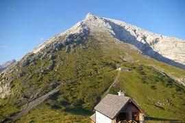 Hocheck Watzmannhaus-Winterlager Watzmann Hut winter-camp