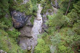 Eschenlaine Asamklamm bei Eschenlohe Eschenlaine creek Asam gorge near Eschenlohe