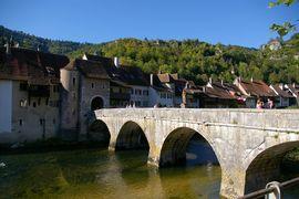 Saint-Ursanne (CH) Clos du Doubs - Le Doubs