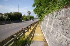 Piana del Sele pista ciclabile Agropoli - Paestum