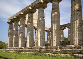Paestum Tempio di Athena
