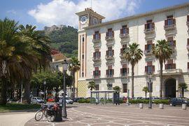 Salerno Palazzo della provincia Castello di Arrechi