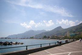 Salerno lungomare - porto Monti Lattari (costiera amalfitana)