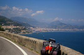 Vietri sul Mare Salerno - Castello di Arechi  Monti Picentini