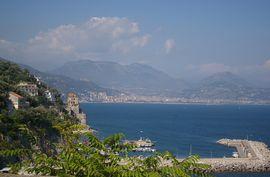 Cetara - Torre Saracena Salerno  Monti Picentini