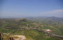 Calascibetta - Monti Erei von / viewed from Enna
