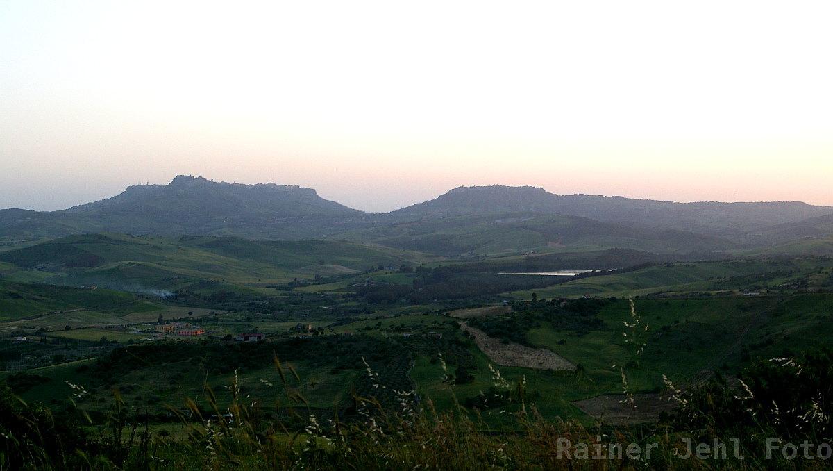bei/near Leonforte Enna - Calascibett