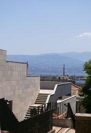 vista direzione Aspromonte/Calabria