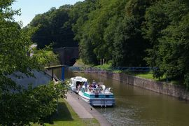 Canal de la Marne au Rhin souterrain de Arzviller