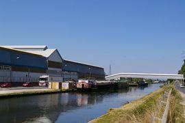 Canal de la Marne au Rhin Dombasle - usine Solvay