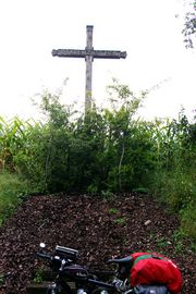 bei/near Laupheim (Swabia: In the cross is salvation)