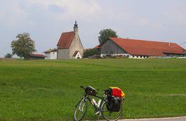 Chiemgau - bei/near Petting Kirchhof, St. Margareth