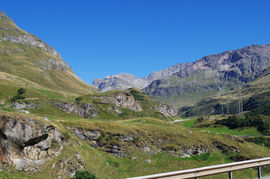 Pass dal Güglia - bei/near Bivio Lagrev-Gruppe/-Range - Piz da las Coluonnas