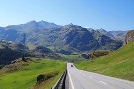 Pass dal Güglia - bei/near Bivio Platta-Gruppe/-Range Piz Surparé - Piz Scalotta