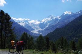 Val Bernina - Montebello Vadret da Morteratsch Piz Palü - Piz Bernina - Piz Morteratsch