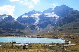 Passo del Bernina - Lago Bianco Sassal Mason - Piz Caral  Vadret dal Cambrena - Piz Cambrena - Piz d'Arlas
