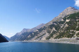 Lago di Livigno Cima del Fopel - Piz Murtarous