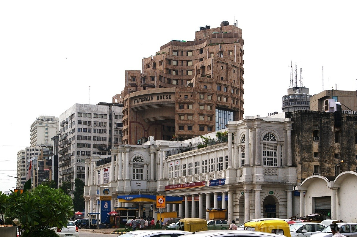 New Delhi Connaught Place Statesman House