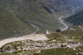 Chandra Valley Chandrabagha Range Chandra River Road to Spiti / Piste ins Spiti-Tal