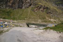 Chandra Valley Chandra River Khoksar
