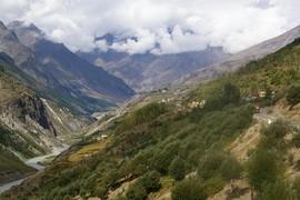 Chandra Valley Chandra River Gondhla