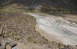 Bagha Valley Bagha River Darcha