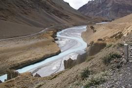 near Sarchu Tsarap River
