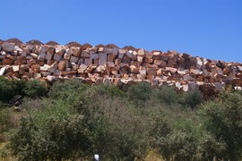 Alentejo bei / near Estremoz Marmorbruch / marple quarry