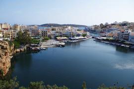 Agios Nikolaos Lake Voulismeni
