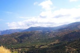 Orno Oros Mirsini - Tourloti - Sfaka - Lastros (links nach rechts / left to right)