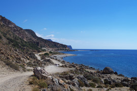 bei/near Paleochora Akrotiri Flomos
